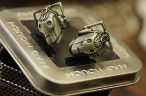 cybermen cufflinks