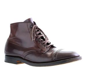 """Alden """"Cordovan"""" cap-toe boot"""