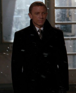 Tom Ford Overcoat - Daniel Craig in Quantum of Solace